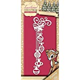 Find It Trading Yvonne Creations Traditional Christmas Die-Christmas Decoration