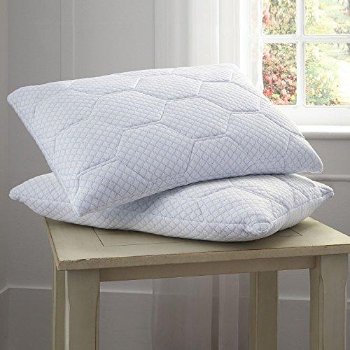 Product of Pure Rest Cooling Gel Memory Foam & Loft Reversible Pillow - Bed Pillows [Bulk Savings]