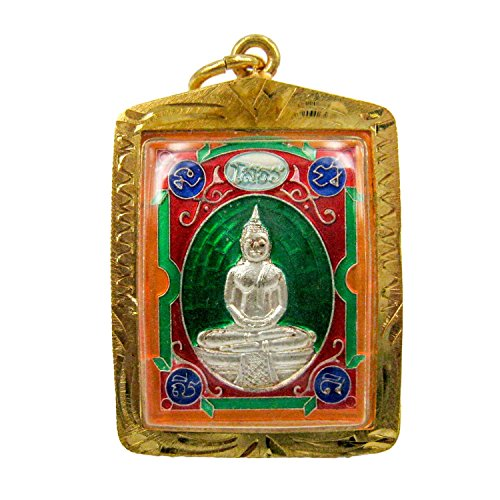 Lucky Jewelry Amulets Thai Buddha Phra Phuttha Sothorn Wat Sothon Wararam Worawihan Pendent