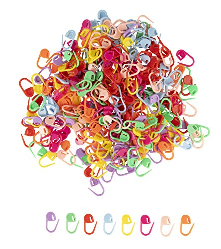 Stitch Markers - 320-Piece Knitting Stitch Markers, Crochet