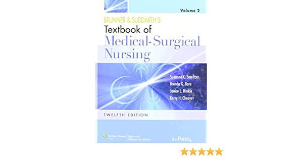 Brunner suddarths textbook of medical surgical nursing volume 2 brunner suddarths textbook of medical surgical nursing volume 2 suzanne c smeltzer brenda bare janice l hinkle kerry h cheever amazon fandeluxe Image collections