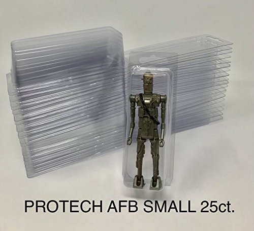 Lot of 100 Protech StarCase for loose 3//4 Figures Gi Joe Star Wars Hasbro New