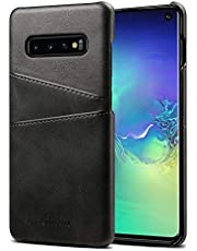 Elehome Slim PU Leather Back Case for Samsung Galaxy S10 Series