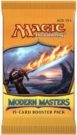 M Tg Magic The Gathering Modern Masters Booster Pack  15 Cards