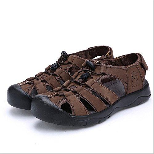 Scarpe Casual pantofole All'aperto da Rosso Scarpe Dimensione Sandali Rosso 0 Sandali Di Da Scarpe 40 Colore 27 Traspiranti Uomo Wagsiyi 24 Collisione 5 CM EU spiaggia AEtqwdt