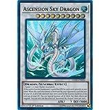 Yu-Gi-Oh! - Ascension Sky Dragon - LEHD-ENB34 - Ultra Rare - 1st Edition - Legendary Hero Decks - Aesir Deck