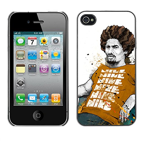Cool Rasta Chillin - For Apple iPhone 4 / 4S