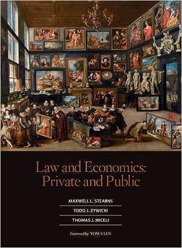 Law and economics : private and public