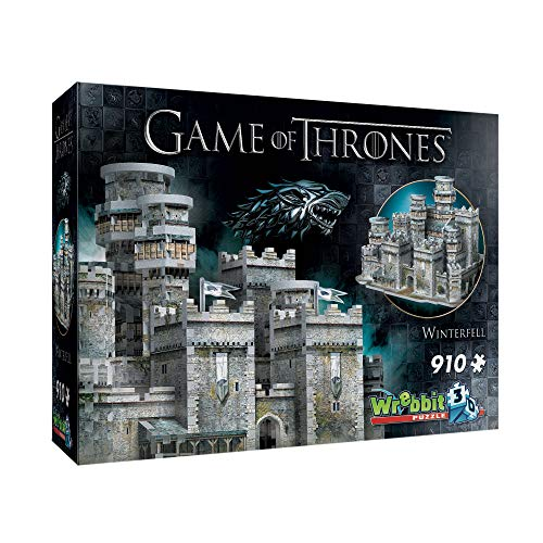 (Wrebbit 3D - Game of Thrones Winterfell 3D Jigsaw Puzzle - 910Piece)