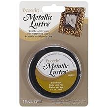 DecoArt ML02C-28 Metallic Lustre Wax, 1-Ounce, Gold Rush