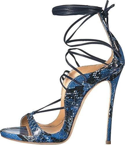 Dsquared2 Sandalia De Tiras Para Mujer Azul