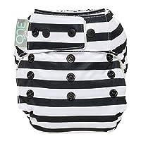 GroVia O.N.E Cloth Diaper (Onyx Stripe)