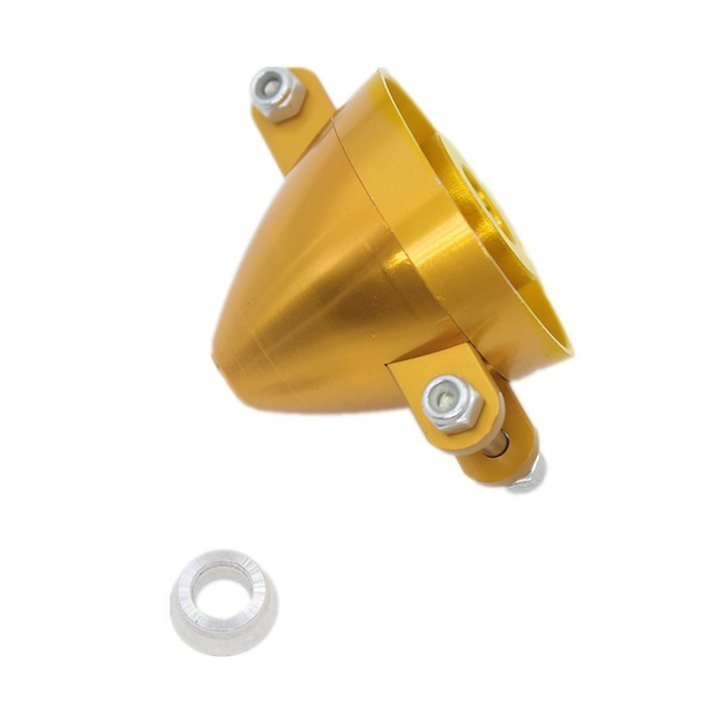 Hobbypark 38mm 1.5inch Alloy Folding Prop Spinner 3.0mm Shaft with Adaptor 6mm RC Plane Replacement Parts