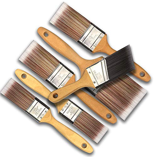 6 Piece Professional Painters SRT Paint Brush,Household Bristle Paint Brushes,Paint Brush Set,Paint Brush,Paint Brushes,Painting Brush,Tools,Tool kit,Tool Set,Wallpaper Brushes