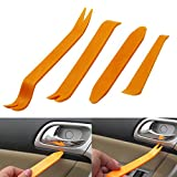 4pcs Auto Car Radio Door Clip Panel Trim Dash Audio Removal Installer Pry Tool