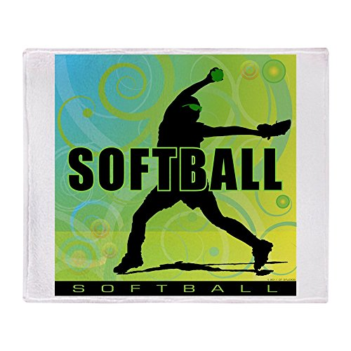 CafePress 2011 Softball 6 Soft Fleece Throw Blanket, 50