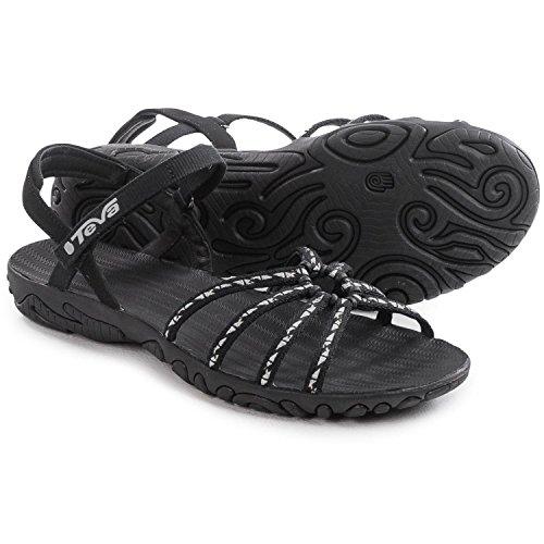 Teva Women's Kayenta Strappy Sandal (8.5 B(M) US, Cascade Black) by Teva