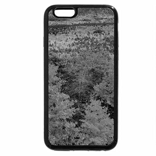 iPhone 6S Case, iPhone 6 Case (Black & White) - Spectacular Autumn Landscape