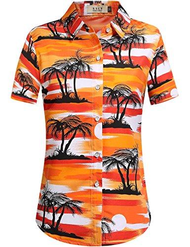 Ladies Aloha Shirt - 8