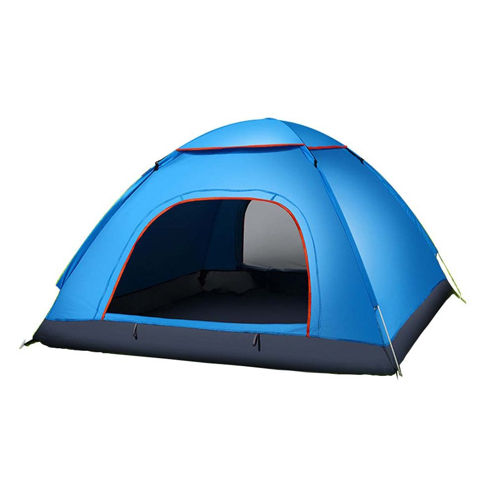 2 Person Portable Tent, Waterproof Backpacking Outdoor Tents with Fiber-glass Poles for Outdoor Camping, Camp Tent for Backpacking