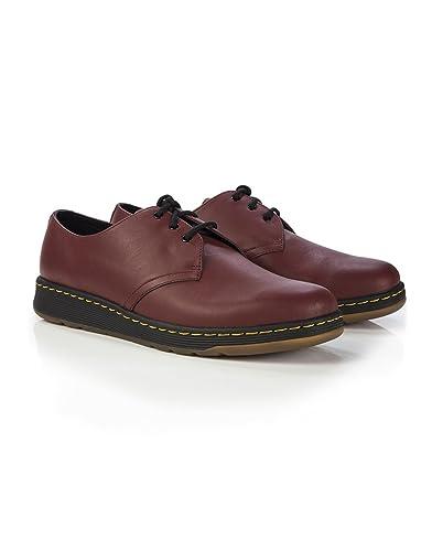 55cc2d5c1e Dr Martens Lite Cavendish 3 Eye Shoes - Cherry Red Temperley: Amazon ...