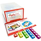 Tiggly Math Blocks School Edition: 25 manipulatives + 5 student workbooks + 1 teacher handbook