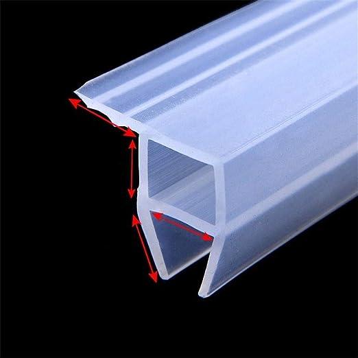 transparent Joint d/étanch/éit/é en verre sans cadre pour porte de douche fen/être balcon