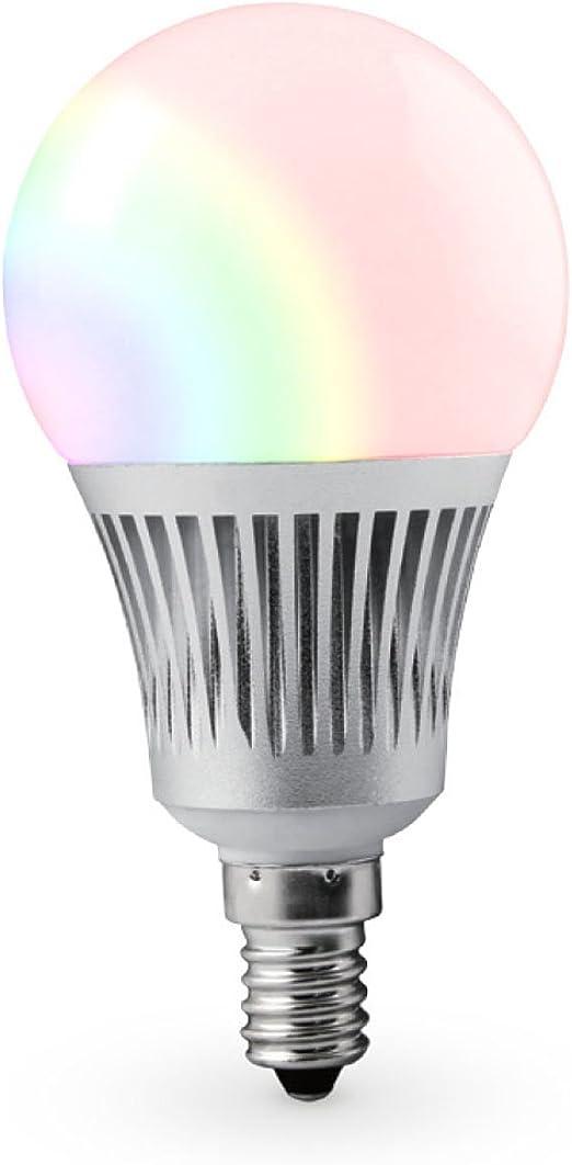 2X5W E14 RGB LED Glühlampe Birne Farbwechsel Glühbirne Licht mit IR Fernbedienun