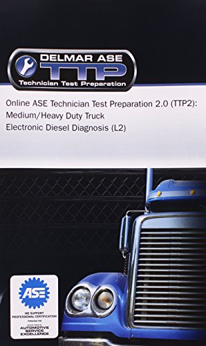 - Online ASE Technician Test Preparation - Electronic Diesel Diagnosis (L2) Printed Access Card