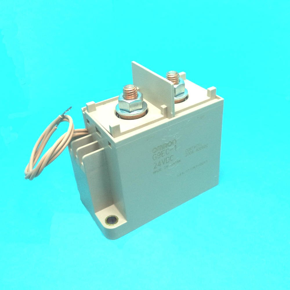 Omron Electronic Components G9ec 1 B Dc24 Power Relay Spstno 40 Amp 100 Vdc Typical Condition Spst No 24vdc 200a Panel Industrial Scientific