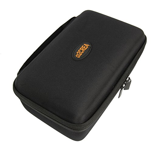 co2CREA (TM) Hard Shell EVA Carrying Storage Travel Case Bag for Garmin nuviCam nuvi 2797LMT 65LM 2757LM 2689LMT