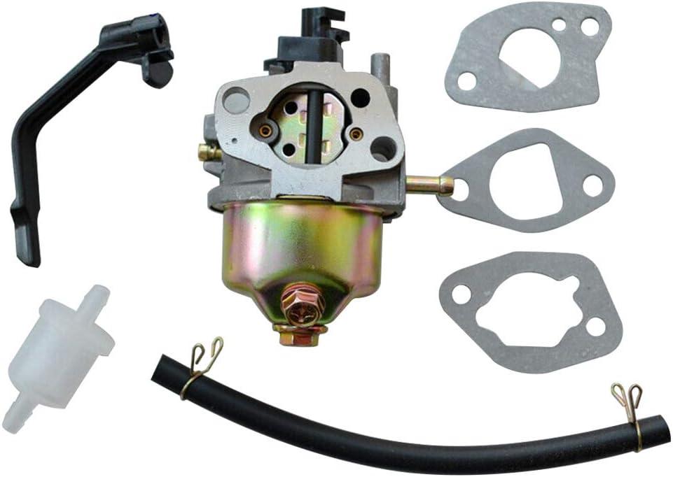 Carrfan Carburador Apto para Honda GX120 GX160 GX168 GX200 5.5HP 6.5HP Generador Motor Generador Cortacésped