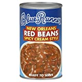 Blue Runner New Orleans Red Beans Spicy Cream Style, 27-Ounce (Pack of 6)
