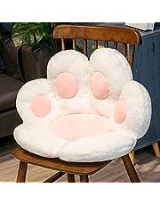 lefeindgdi Kot łapa leniwa sofa, kreskówka kot łapa w połowie otoczona poduszka, urocza poduszka do siedzenia biura przytulna ciepła poduszka do domu biura