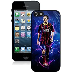 Unique DIY Designed Case For iPhone 5S With Soccer Player Lionel Messi 52 Cell Phone Case