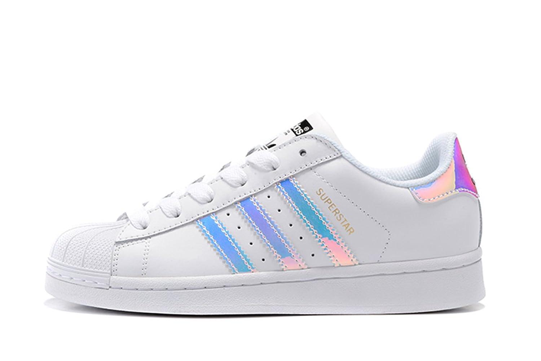 adidas Originals Superstar Foundation women's Fashion Sneaker White/bright gold