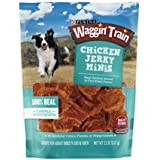 Purina Waggin' Train Chicken Jerky Minis Dog Treats, 11 oz. Pouch