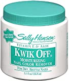 Sally Hansen Kwik Off Moisturizing Nail Color Remover with Vitamin E and Aloe 5.10 oz (Pack of 4)
