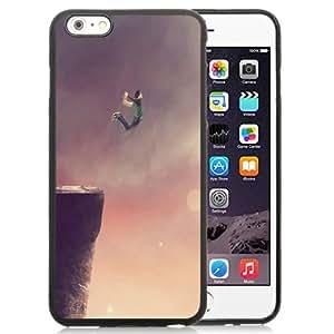 Beautiful Unique Designed iPhone 6 Plus 5.5 Inch Phone Case With Jump Of The Cliff_Black Phone Case