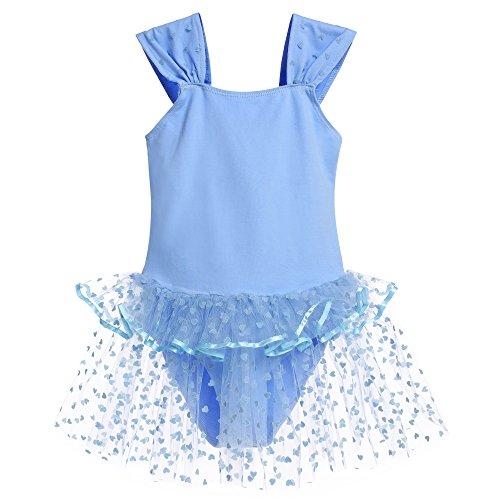 Zaclotre Girls Sleeveless Leotard Ballet Dance Costumes Tutu Dress