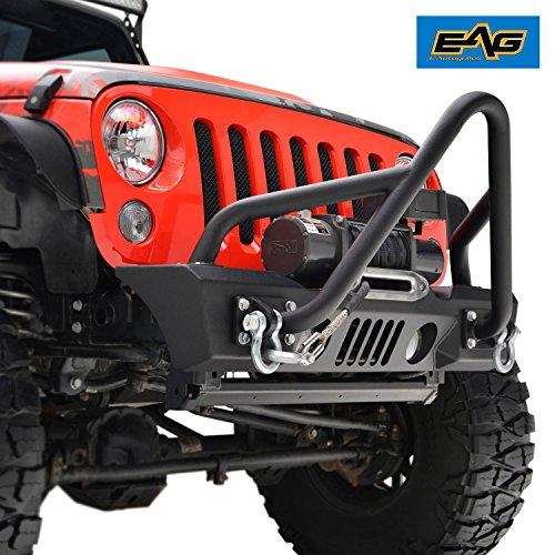 - EAG 07-18 Jeep Wrangler JK Stubby Stinger Front Bumper