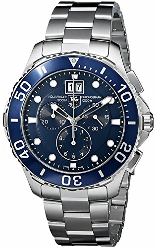 - Tag Heuer Aquaracer Quartz Chronograph Mens Watch Model CAN1011.BA0821
