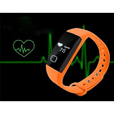 YL Bracelet Intelligent En Temps Réel De Surveillance Du Bracelet Imperméable À L'Eau
