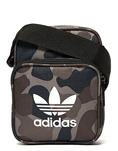557676e71d Adidas Originals Camo Mini Small Bag Shoulder Messenger Airliner Bag  CV8181  Amazon.co.uk  Shoes   Bags