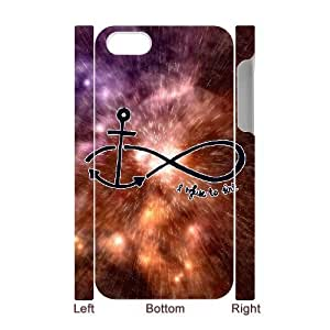 Diy Cool Infinity Anchor Custom for iphone 4 3D Shell Phone Cover Case LIULAOSHI(TM) [Pattern-5] by Maris's Diary
