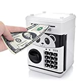 Shine Toys Code Electronic Money Bank Mini ATM Coin Saving Banks,Coin Saving Boxes,Toys Gifts Birthday Gifts ATM Bank for Kids Panda