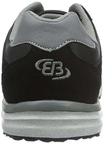 Brütting Bruetting Robert, Baskets Basses Homme, Noir (Schwarz/Anthrazit), 37 EU