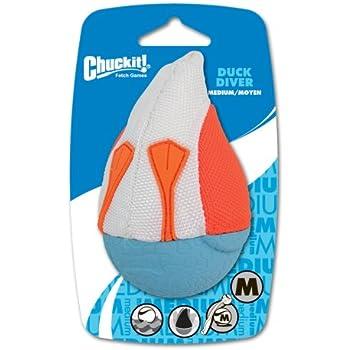 Chuckit! Medium Amphibious Duck Diver Dog Toy (Colors vary)