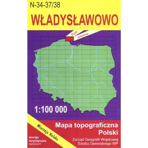 Wladyslawowo Region Map Unknown Amazon Com Books