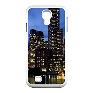 Samsung Galaxy S4 Cases City 13 Cute for Girls, Cell Phone Case for Samsung Galaxy S4 Mini Cute for Girls [White]